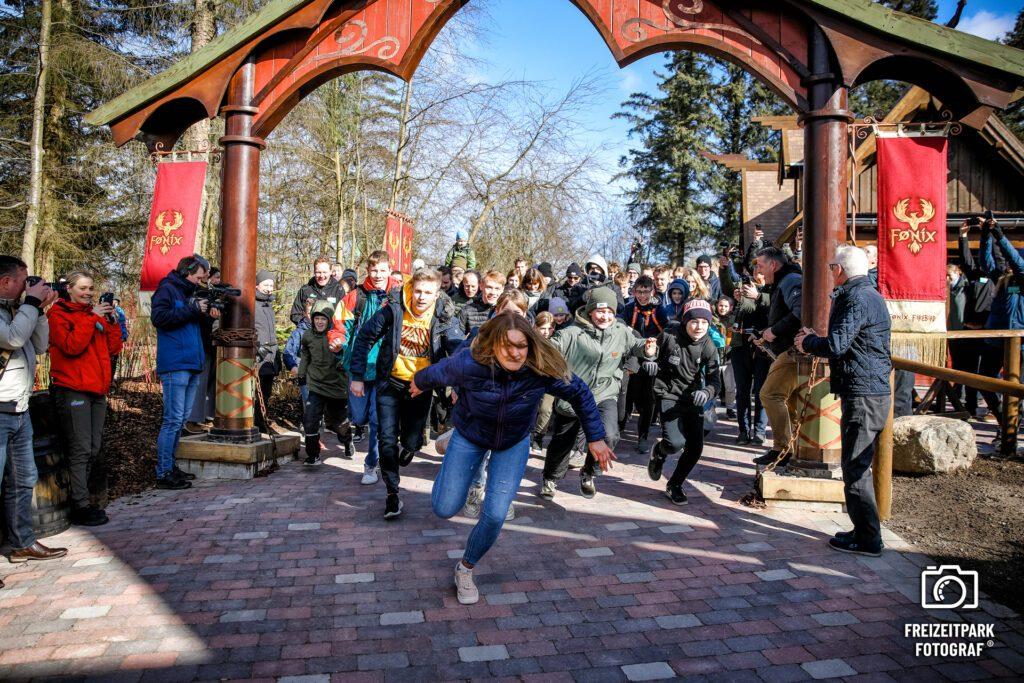 Der Freizeitpark Fotograf Christian Colista bei der Arbeit ;-)